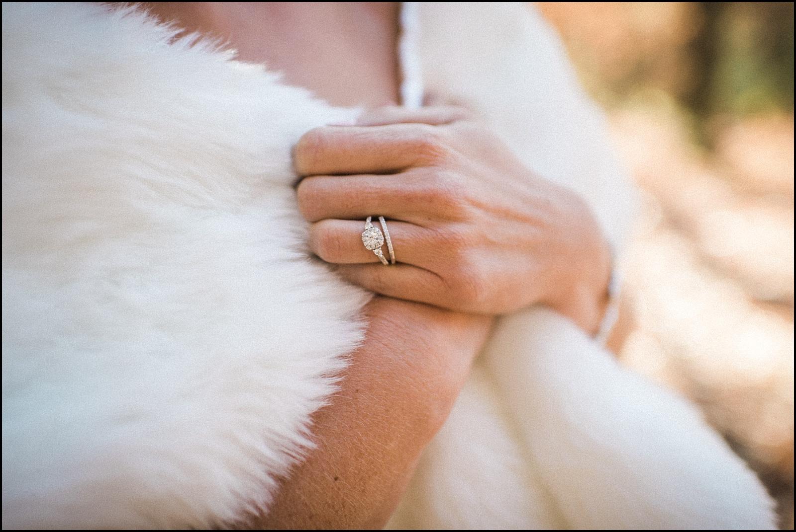 Ring and shawl