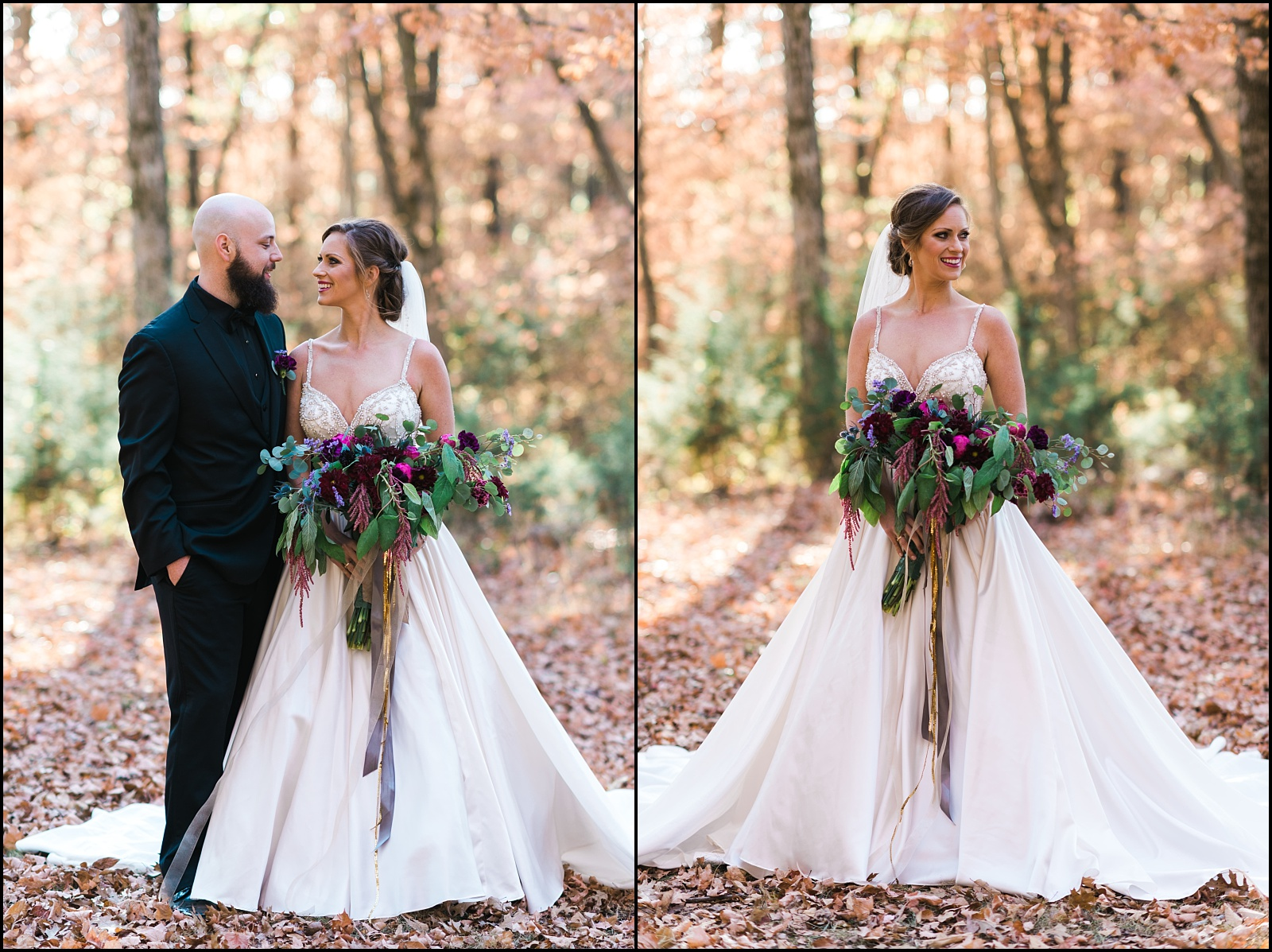 Wedding portraits at Cedars of Lebanon