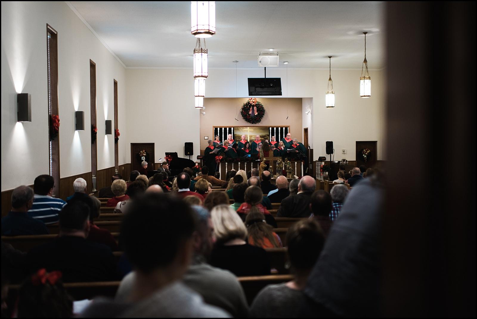 Church service before wedding