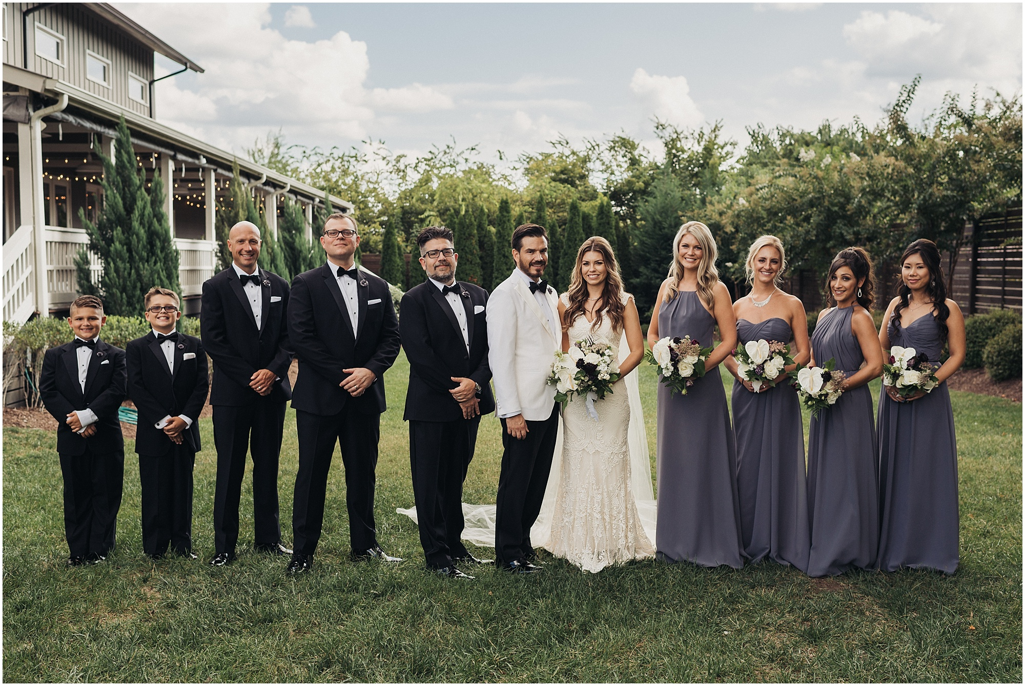 Wedding Party at The cordelle