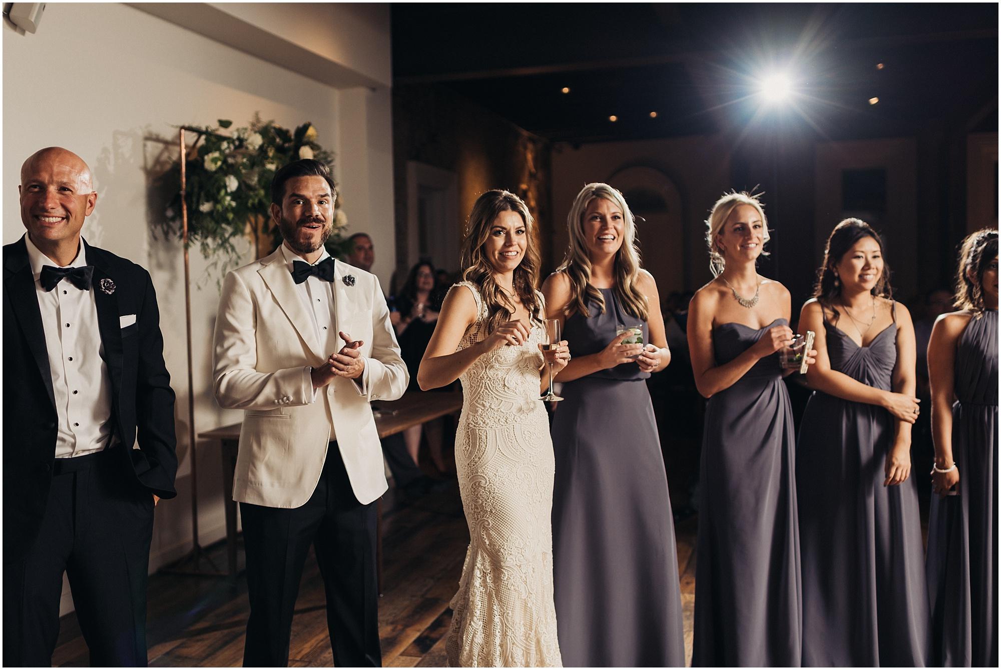 The Cordelle Wedding reception