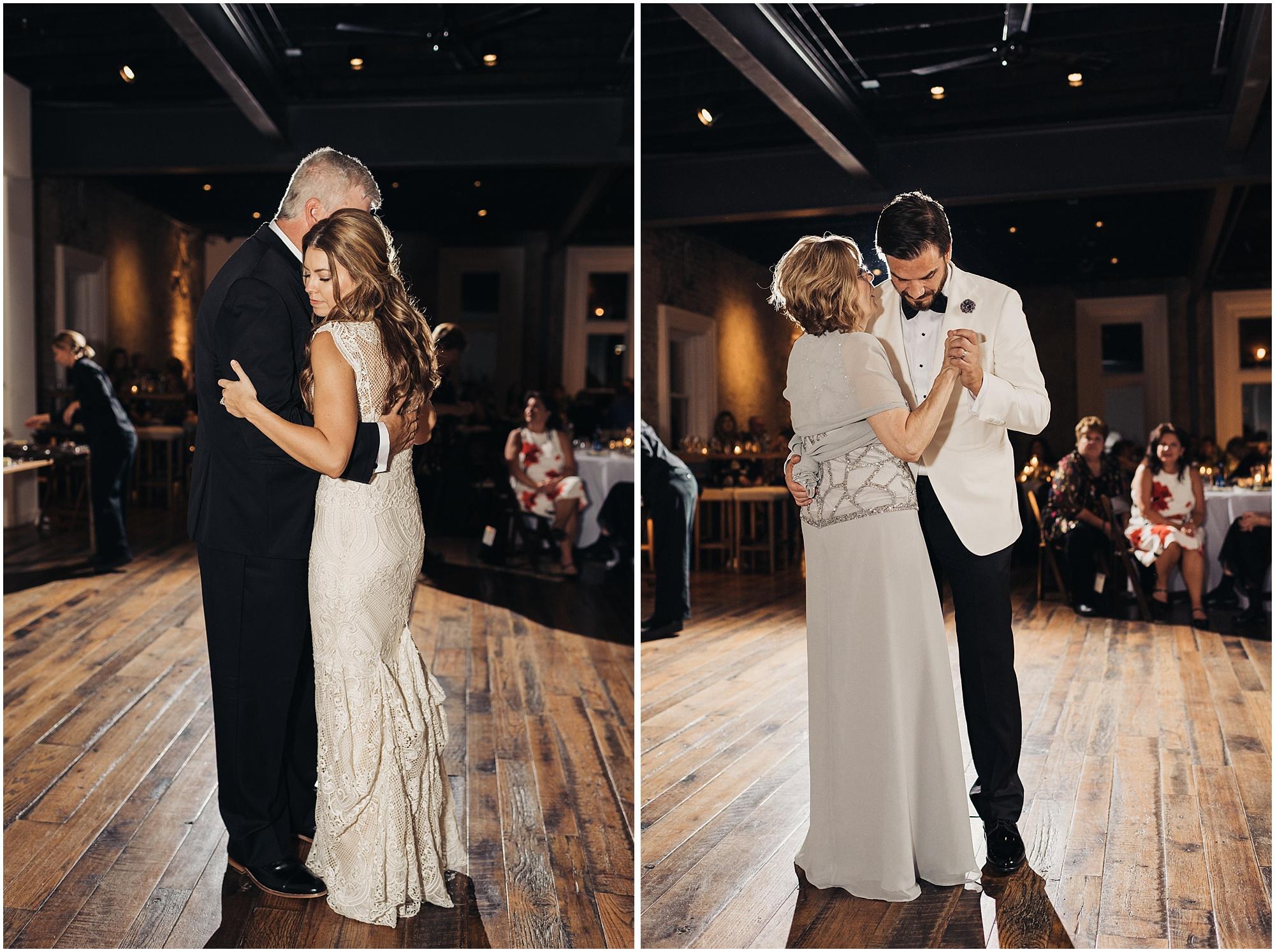 Parent's first dances