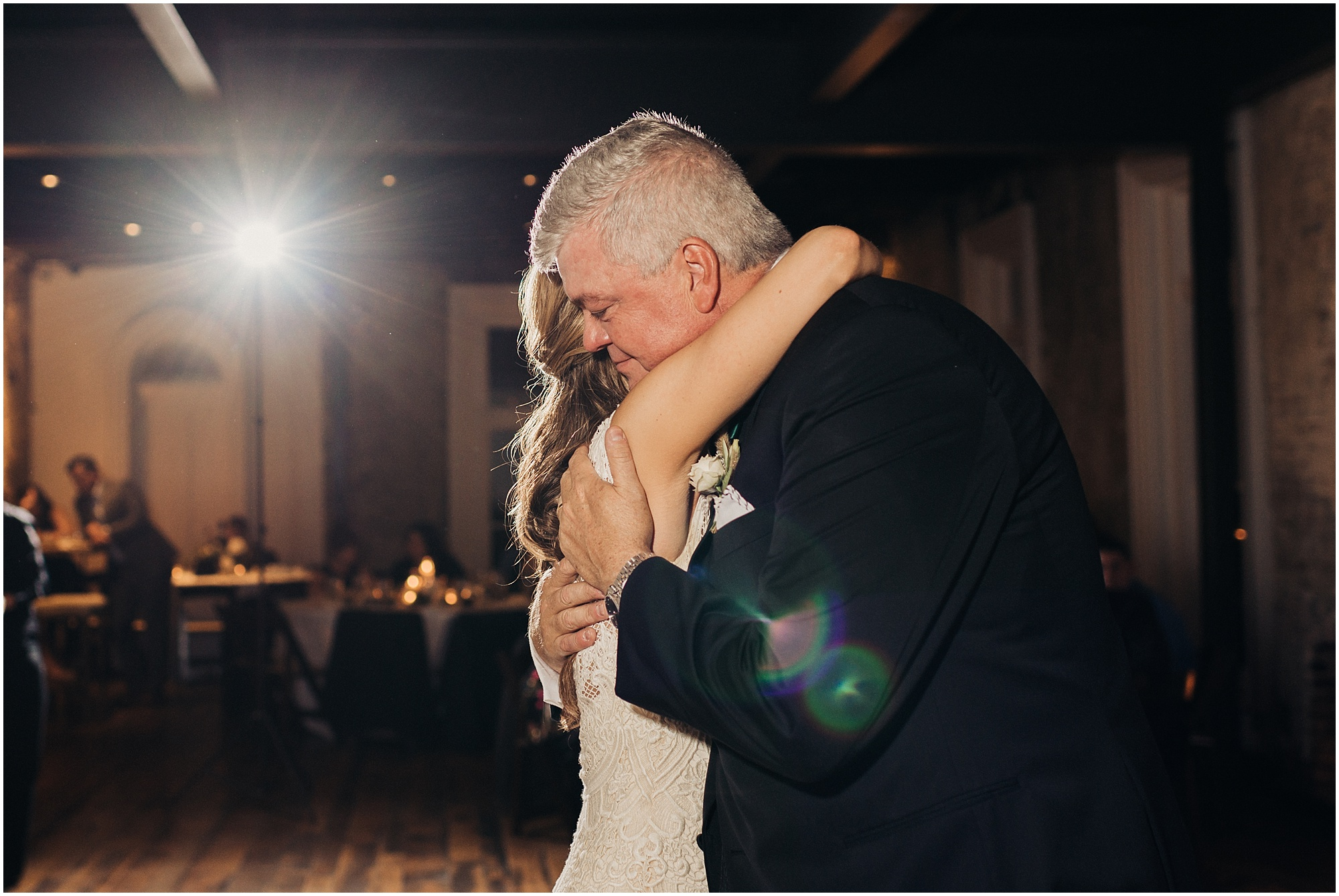 Sweet first dance with dad at The cordelle