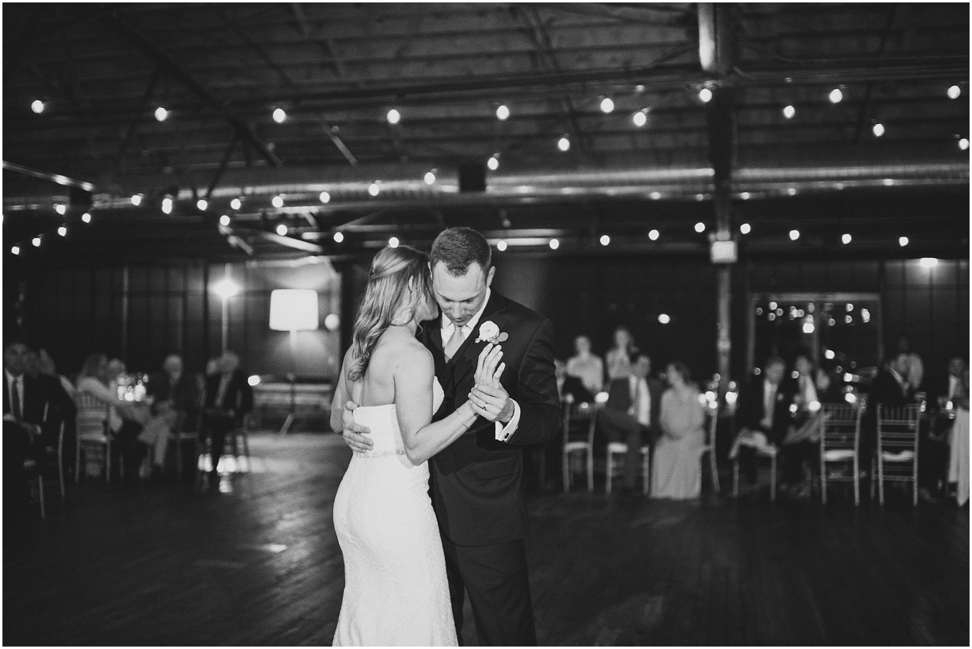 B&W dancing photo