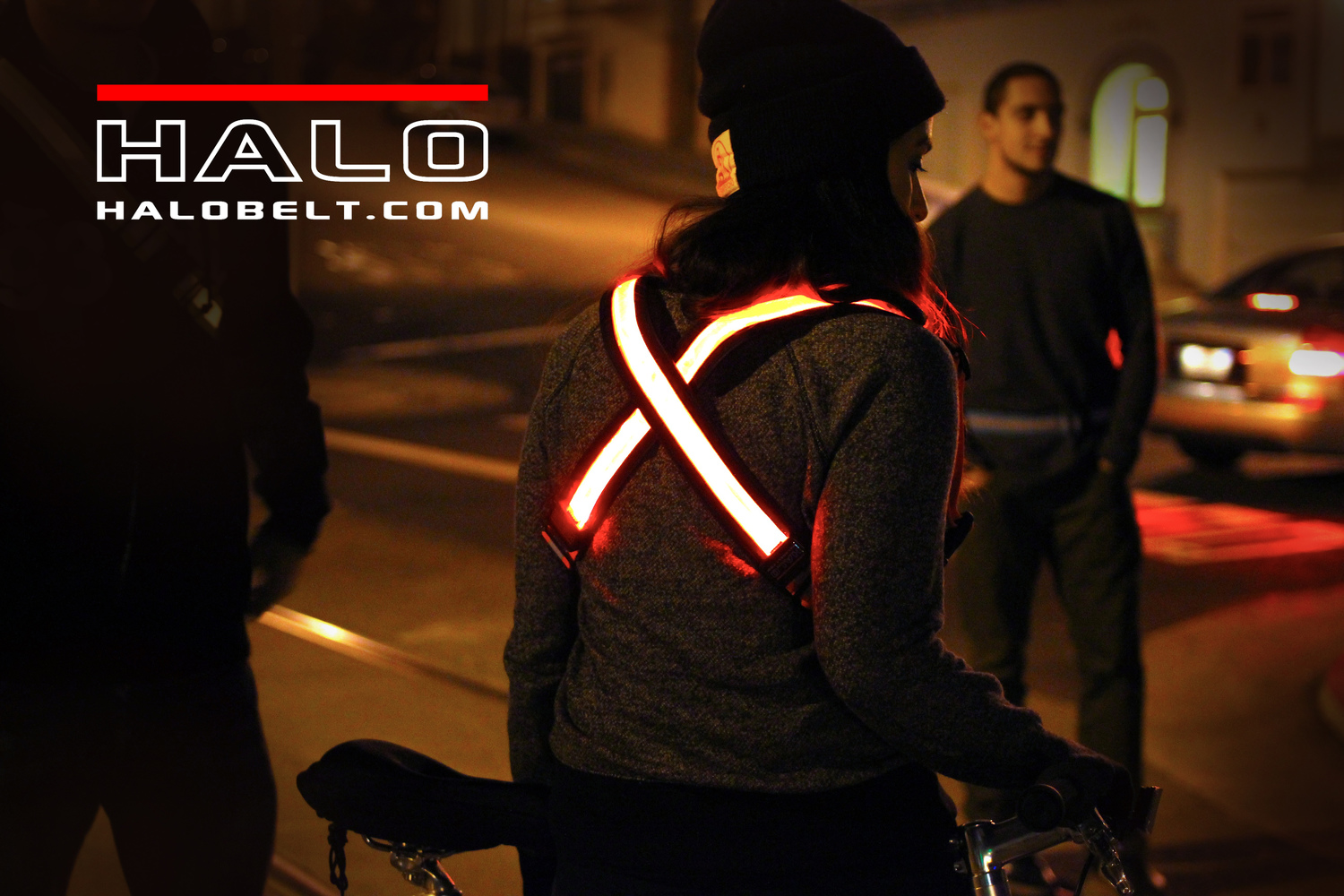 Halo X - (two Halo Belt 2.0) - Cycling safety
