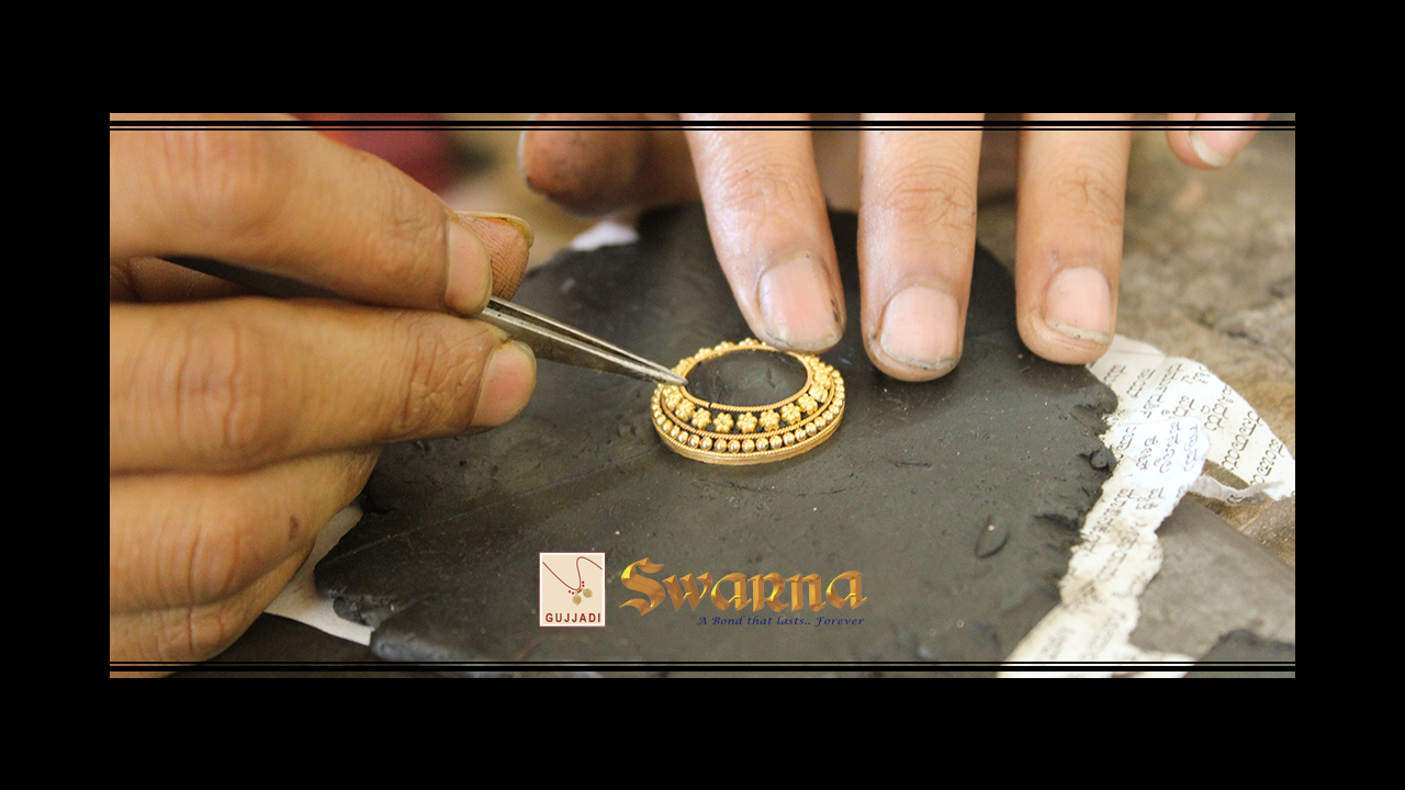 Delicate Bengali 'Filigiri Layout on Wax