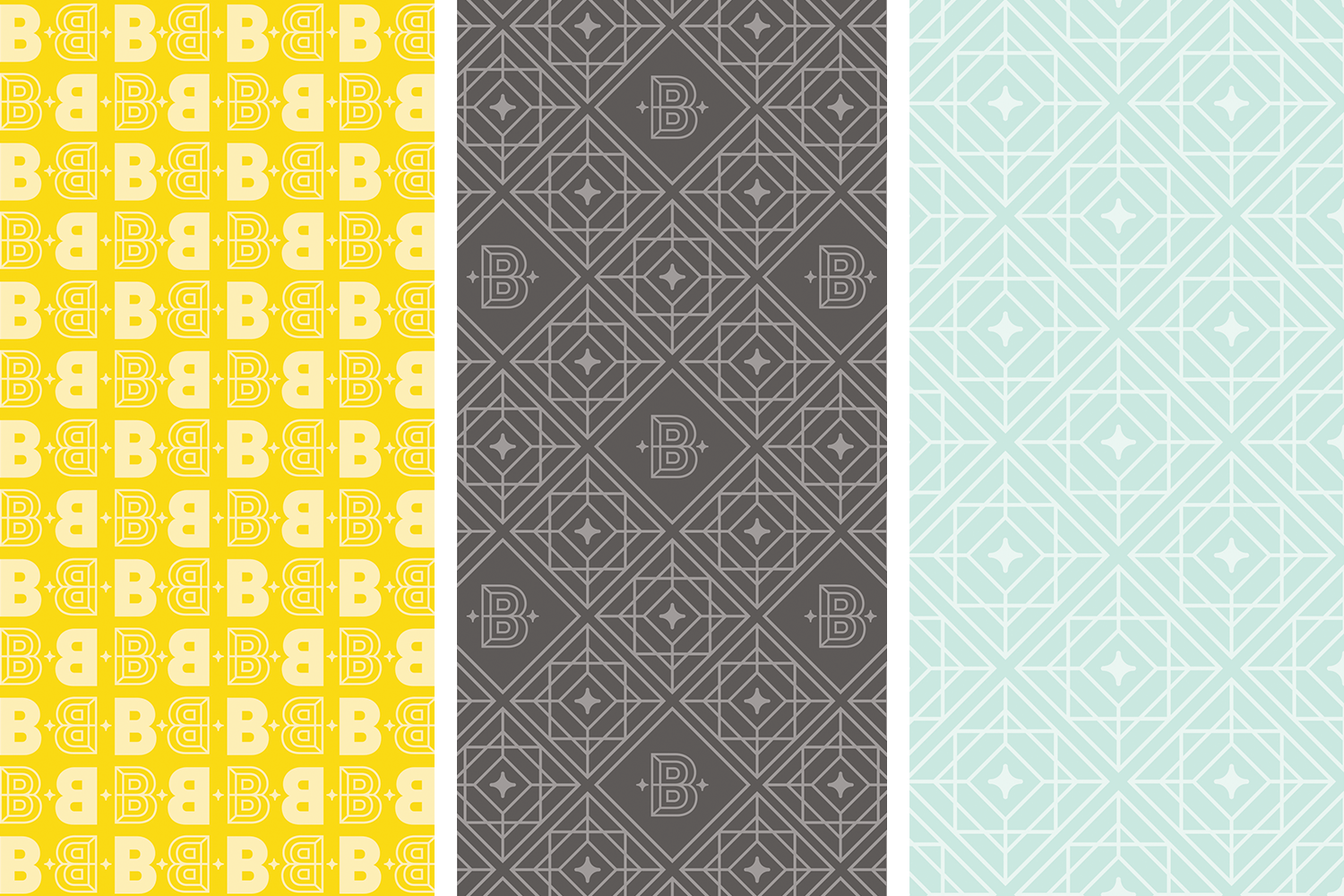 Brightside Creative Solutions pattern design by Pace Creative Design Studio