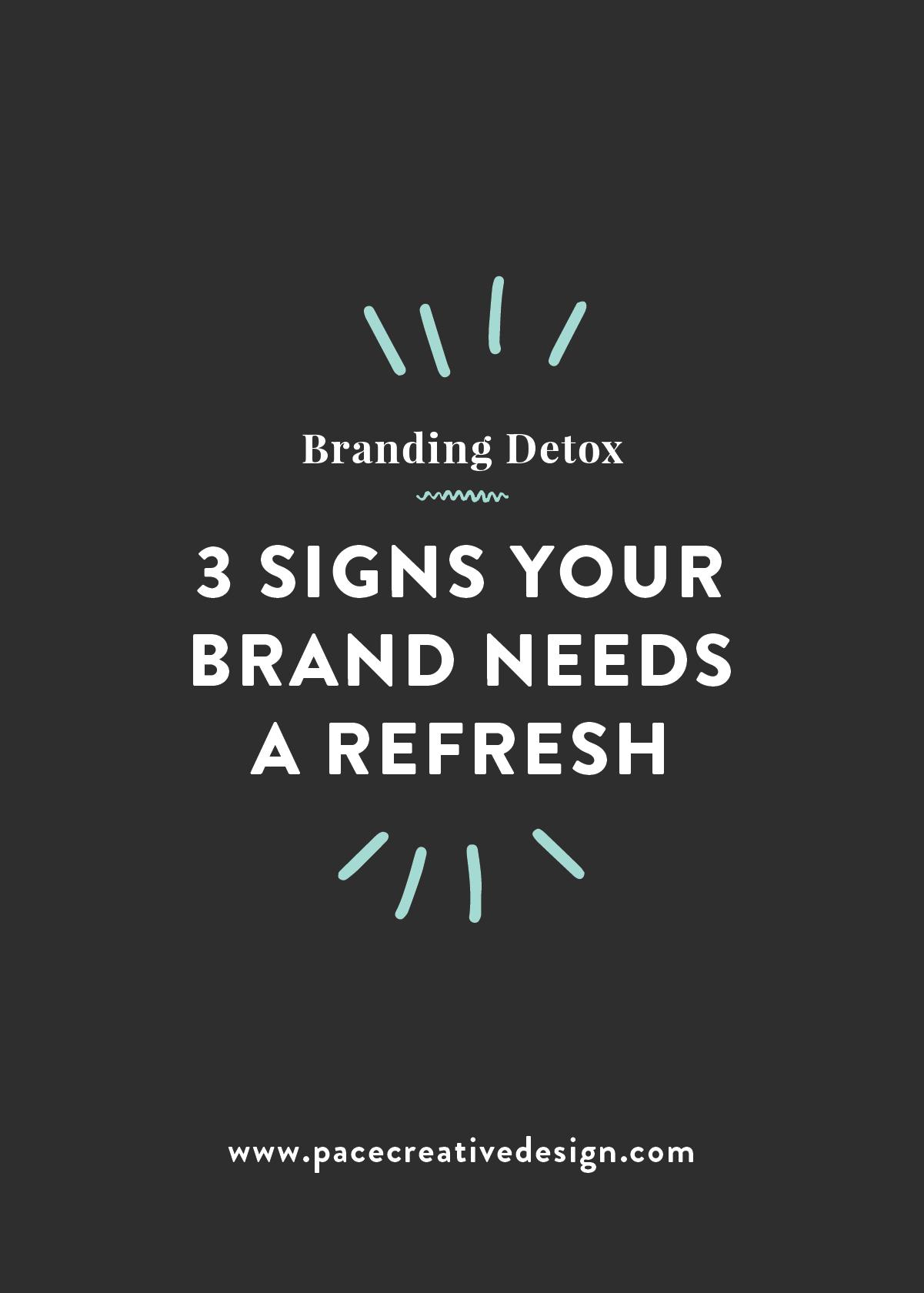 Branding Detox: 3 Signs Your Brand Needs a Refresh   Pace Creative Design Studio