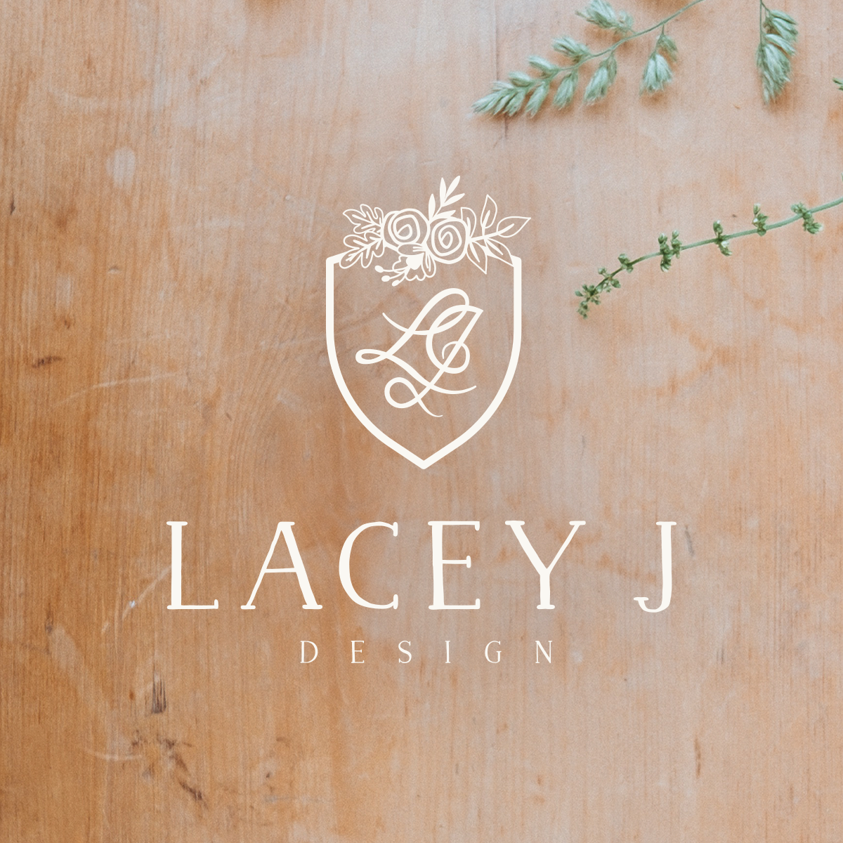 Lacey J Design brand design | Collaboration with Spruce Rd. and Pace Creative Design Studio