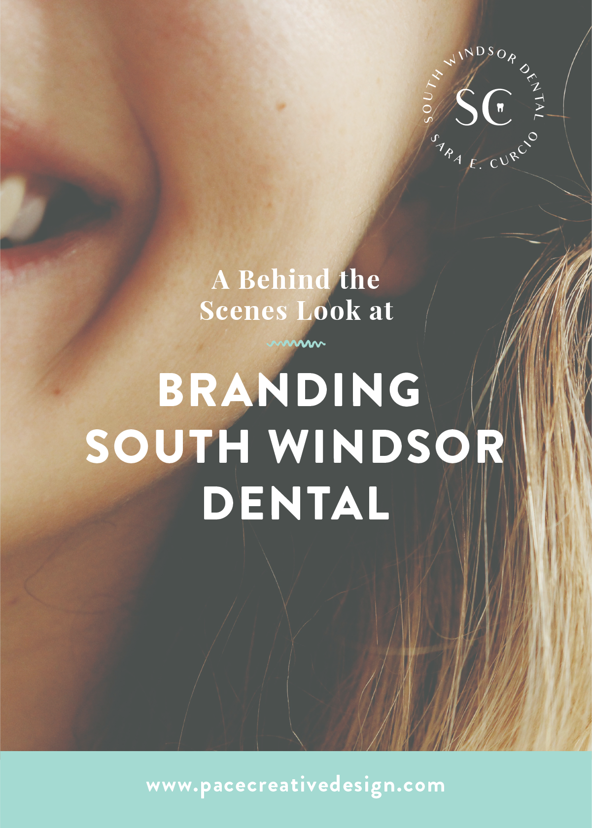 South Windsor Dental brand design by Pace Creative Design Studio