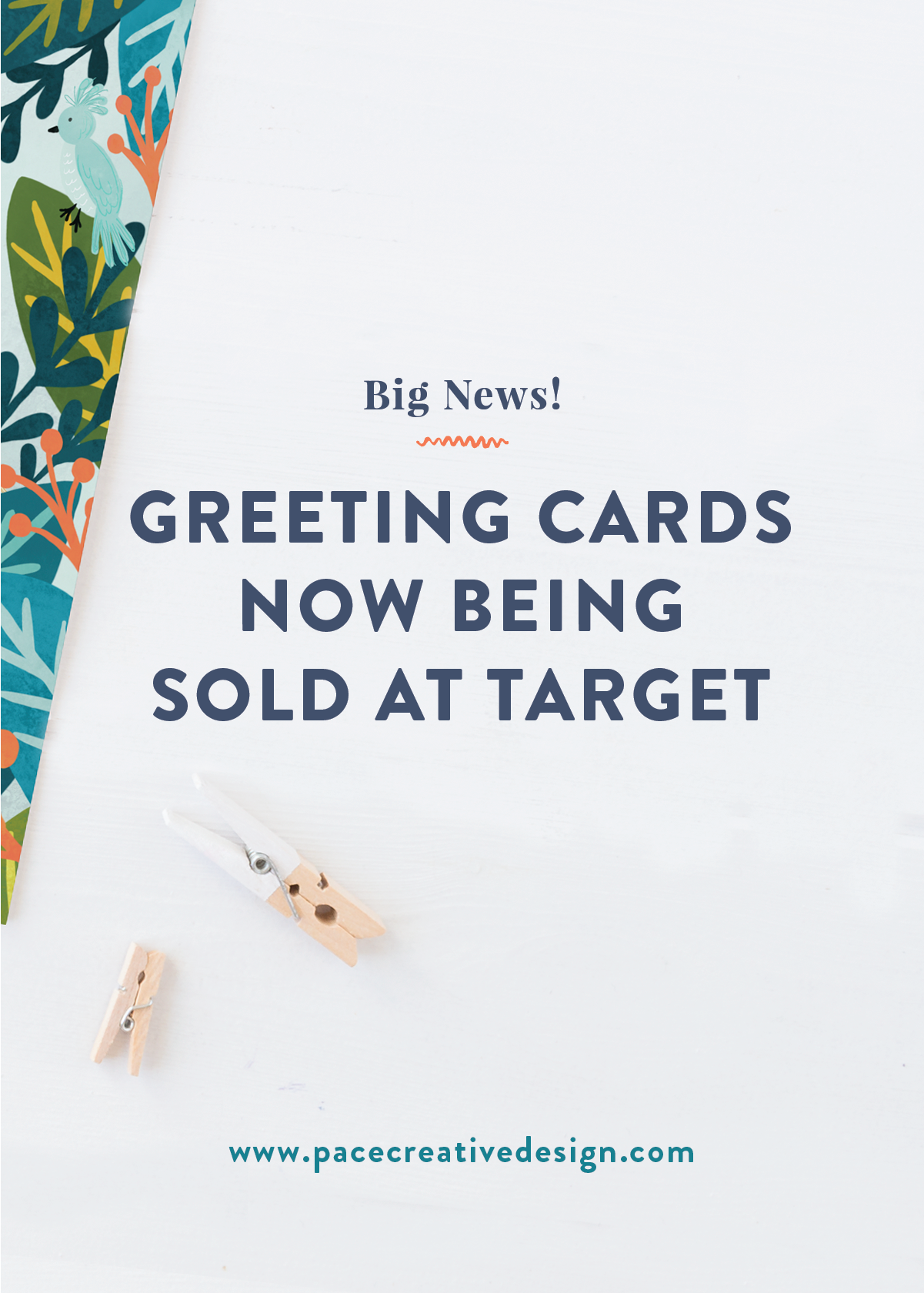 Birthday Greeting Cards sold at Target | Pace Creative Design Studio