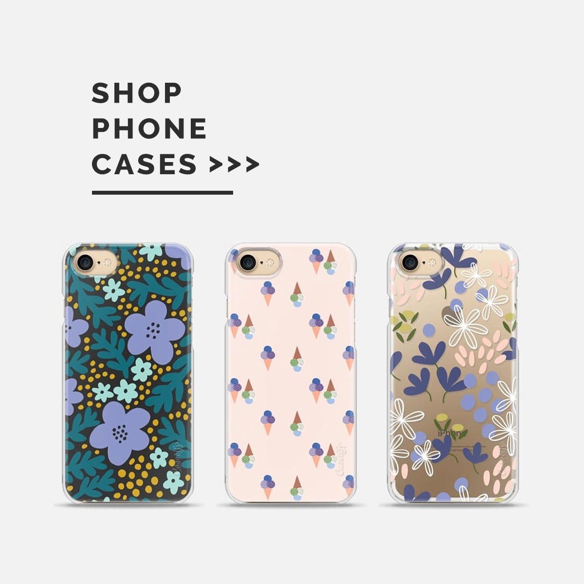 Shop Phone Cases by Pace Creative Design Studio