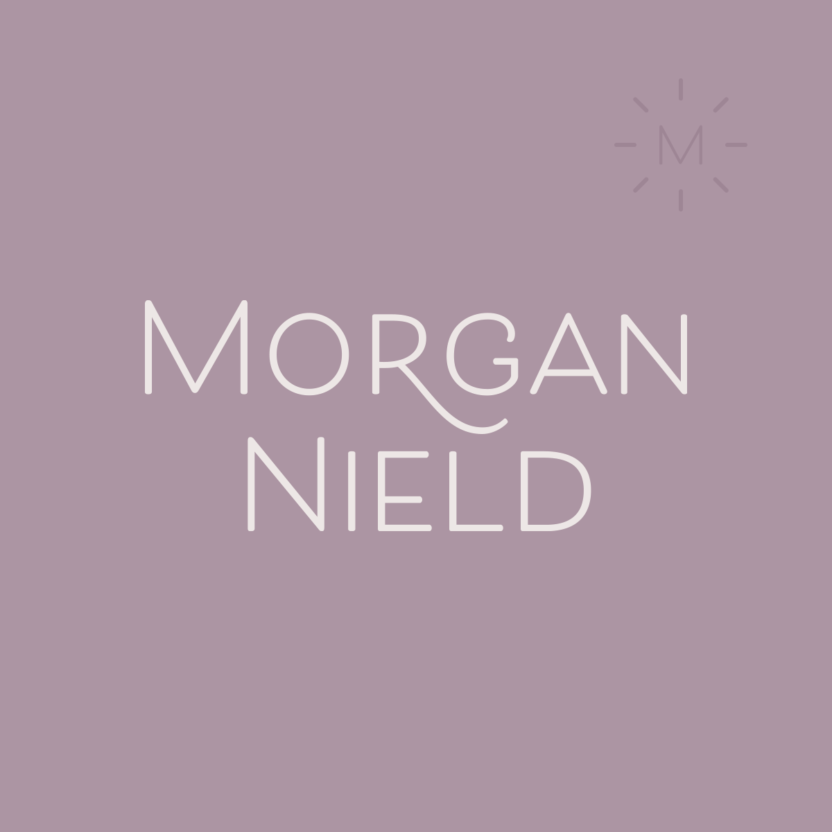 Morgan Nield brand design | Collaboration with Spruce Rd. and Pace Creative Design Studio