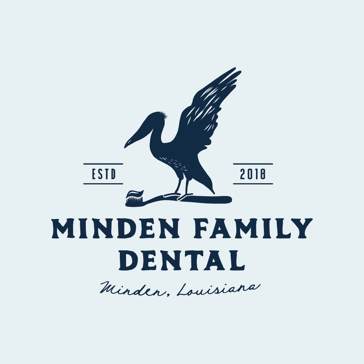Minden Family Dental brand design by Pace Creative Design Studio