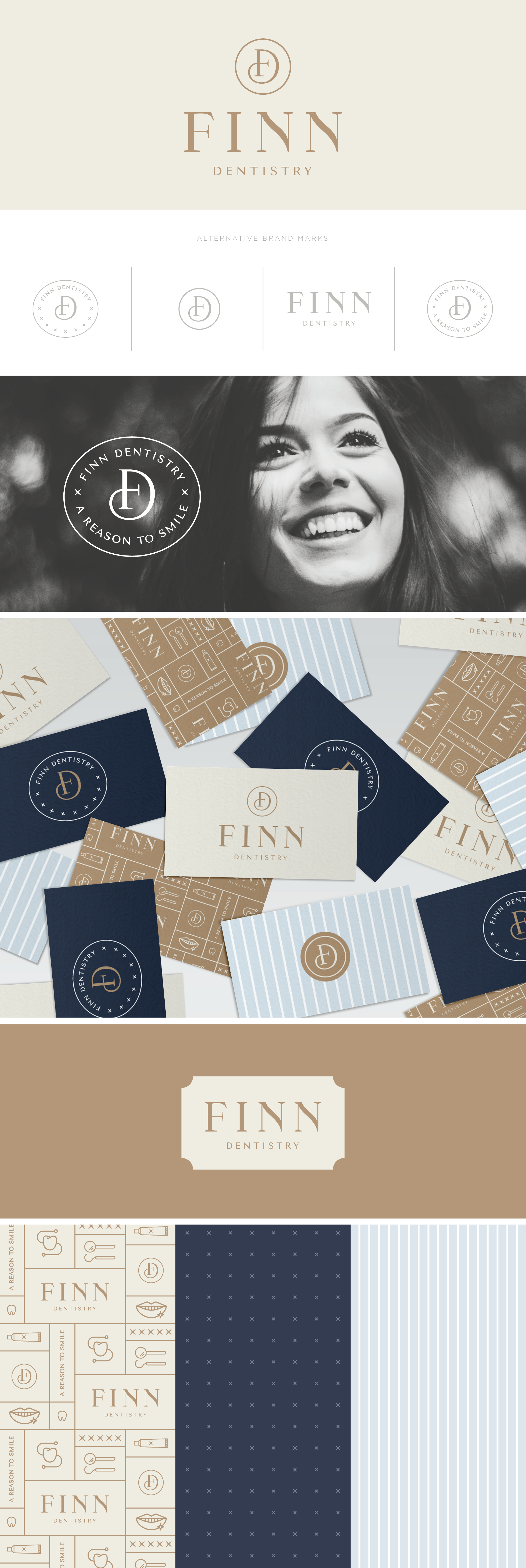 Finn Dentistry Brand Design | Pace Creative Design Studio