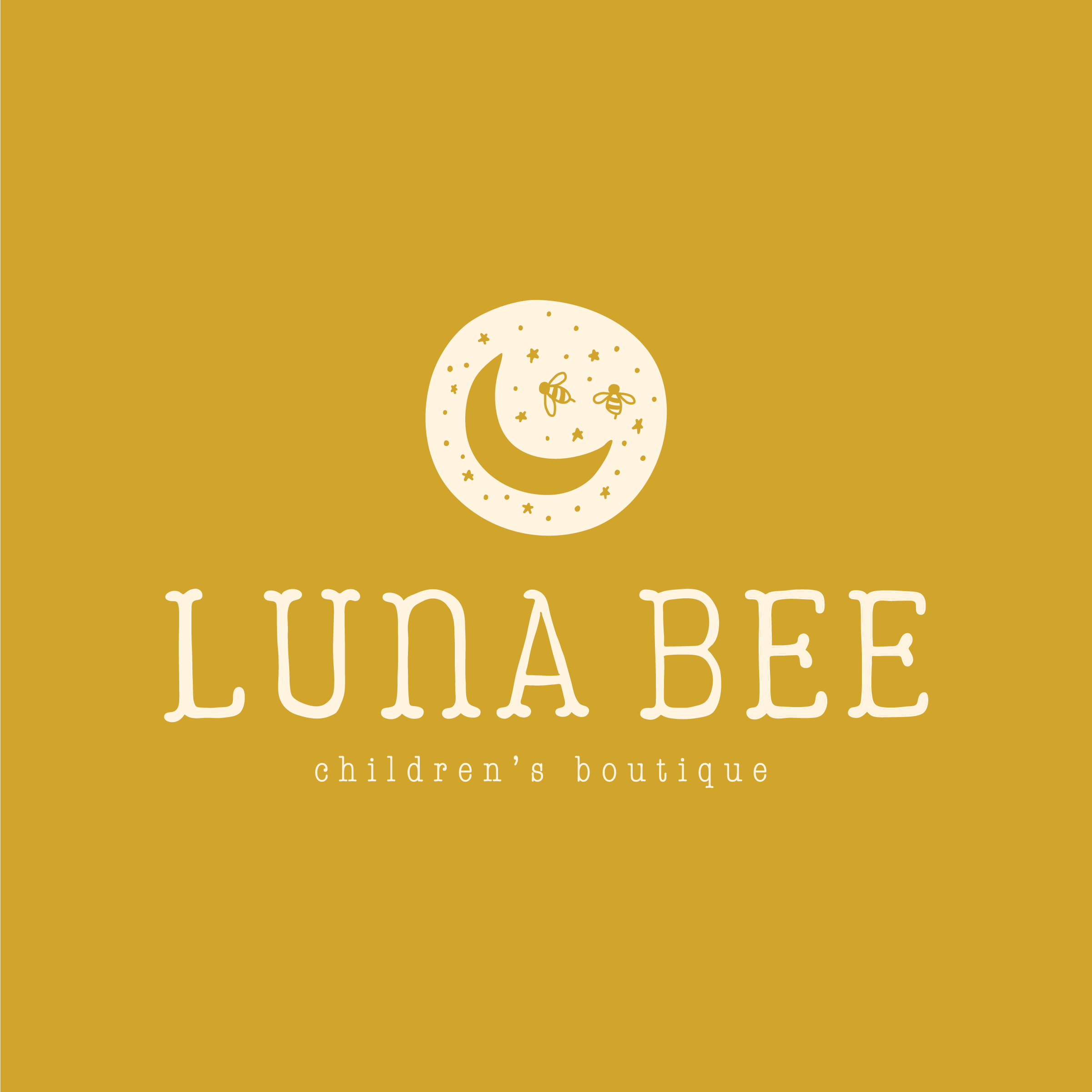 Luna Bee Children's Boutique brand design by Pace Creative Design Studio | Color Diaries: Yellow