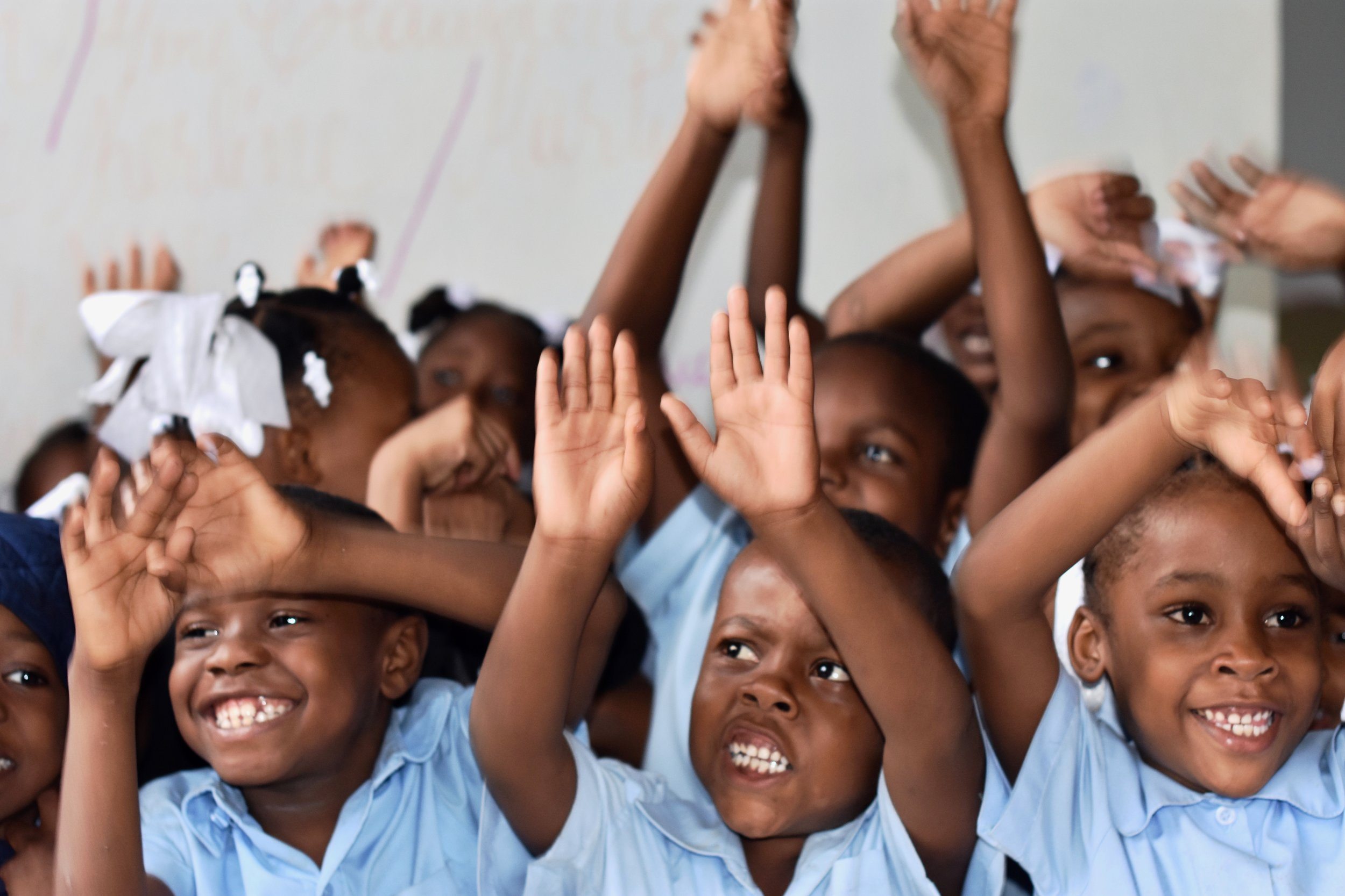 Our students in Port-au-Prince, Haiti