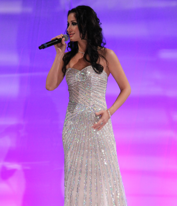 Opera singer Veronica Iovan