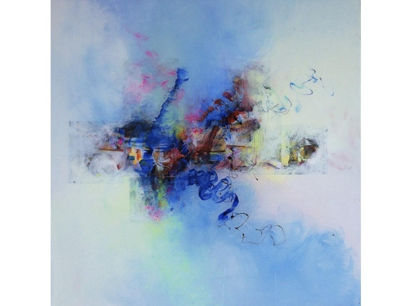 Tali Almog  'Wave' Medium: acrylic. $6.000
