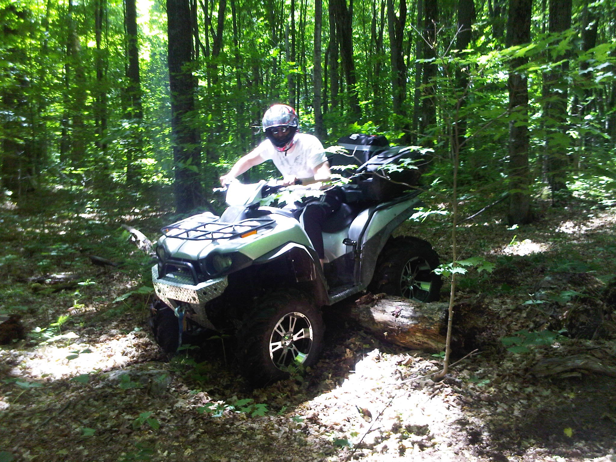First ATV ride... ever