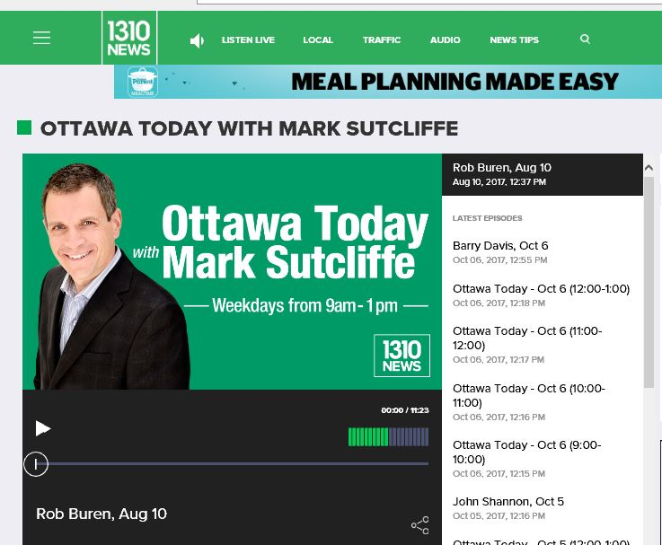1310 News - Ottawa Radio Interview