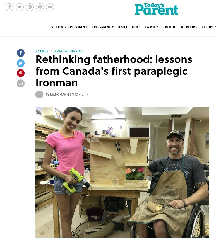 Today's Parent Article