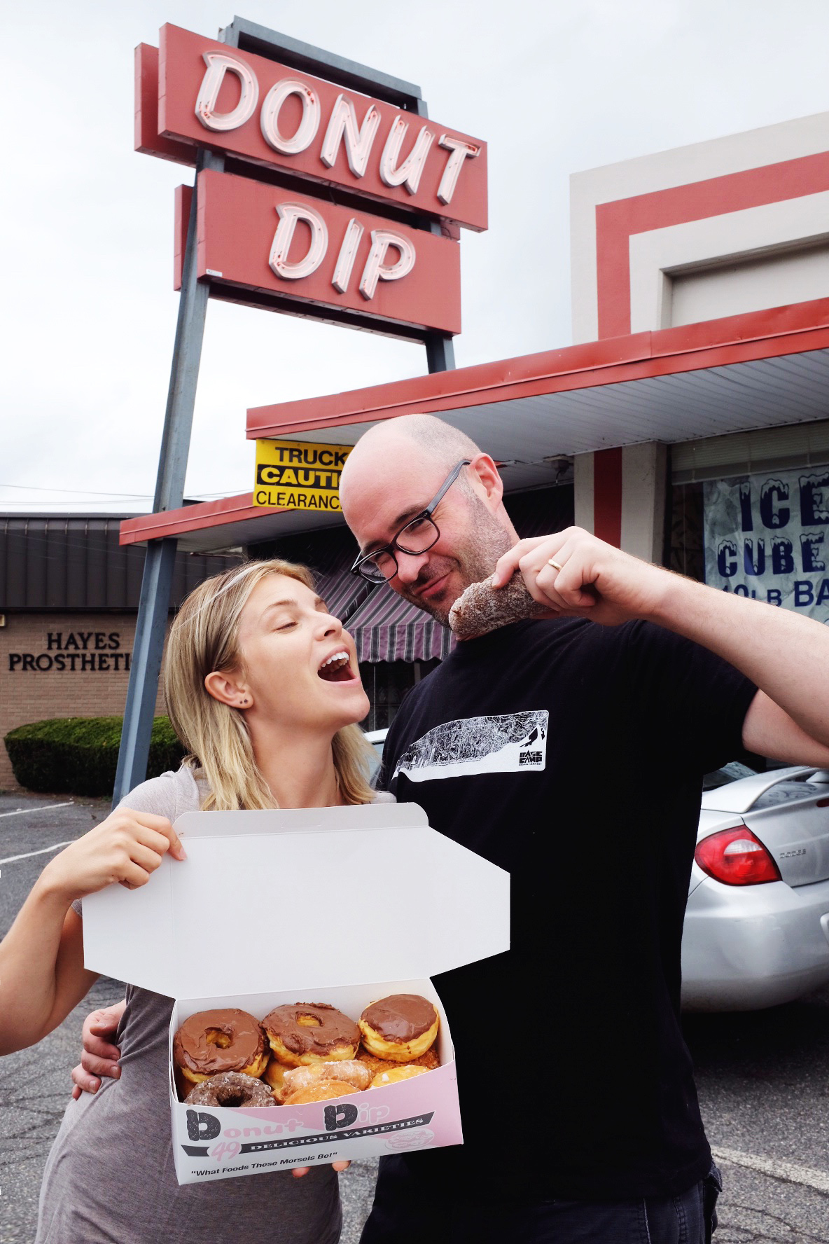We love donuts.