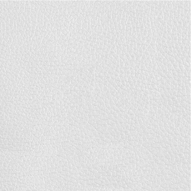 Bonded leather (white)