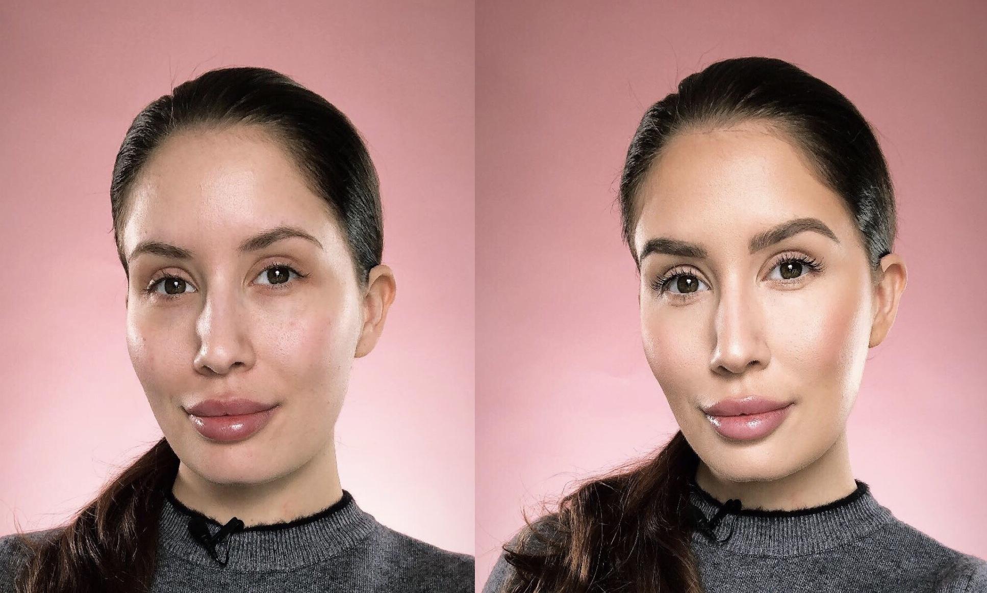 Ingen redigering og samme lys på begge bildene.
