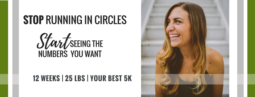 Gimme 12 wks. - Lose 25lbs. Run your BEST 5k.