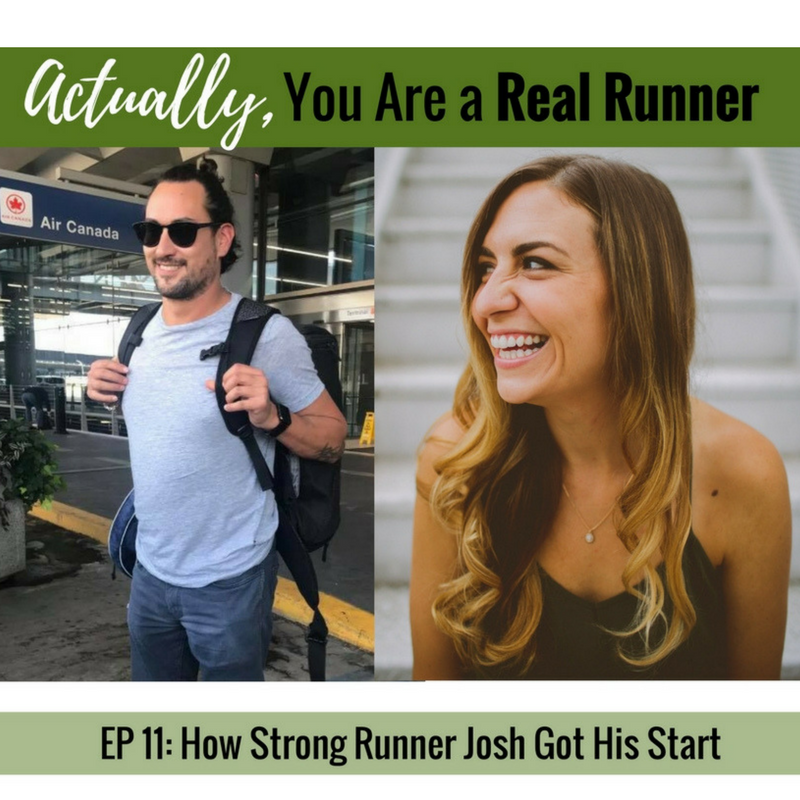 Ep 11: How Strong Runner Josh Got His Start -