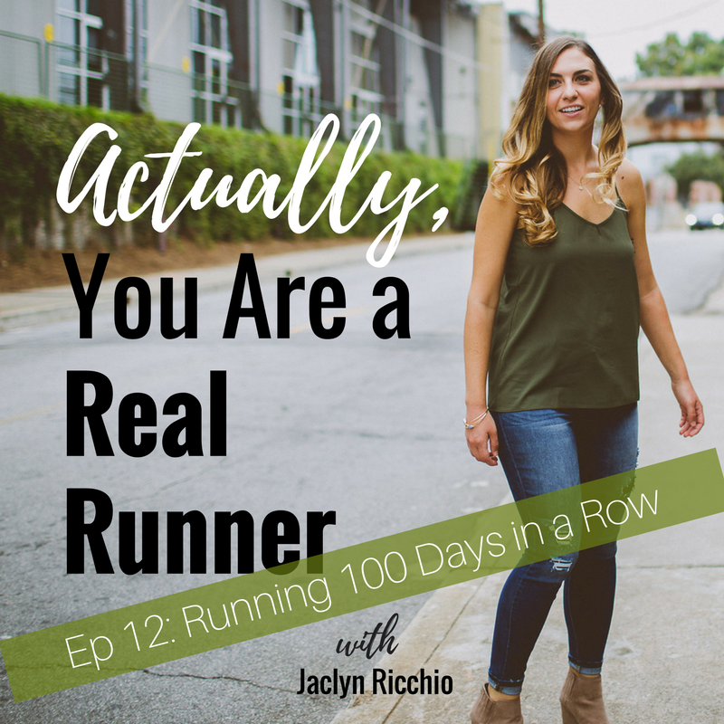 Ep 12: Running 100 Days in a Row -