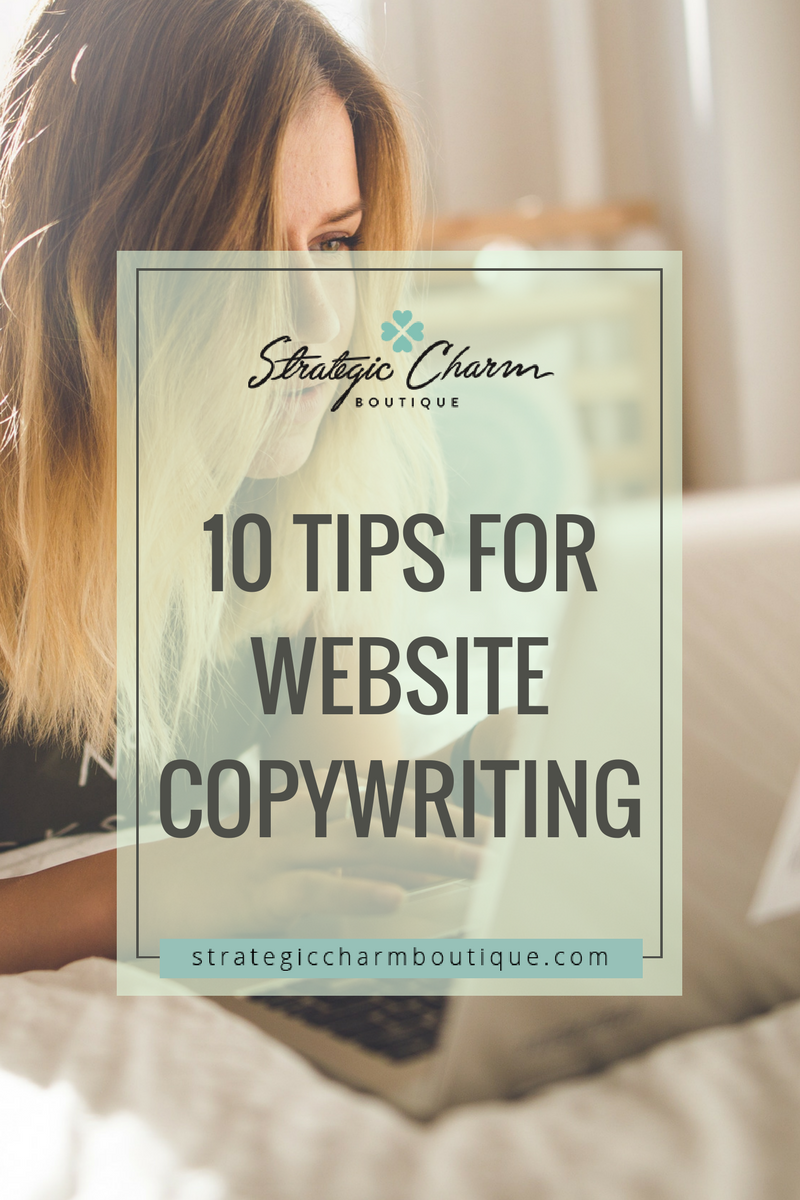 tips for website copywriting