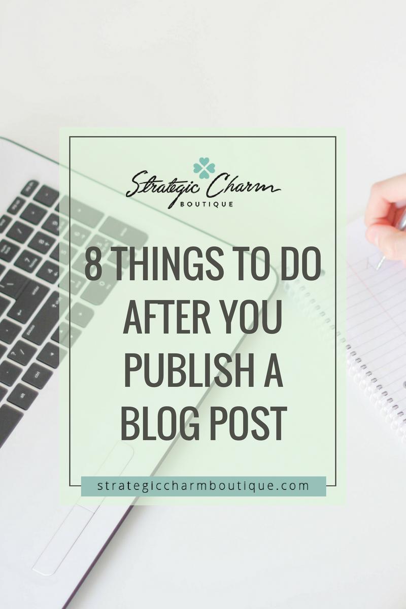 publish a blog post