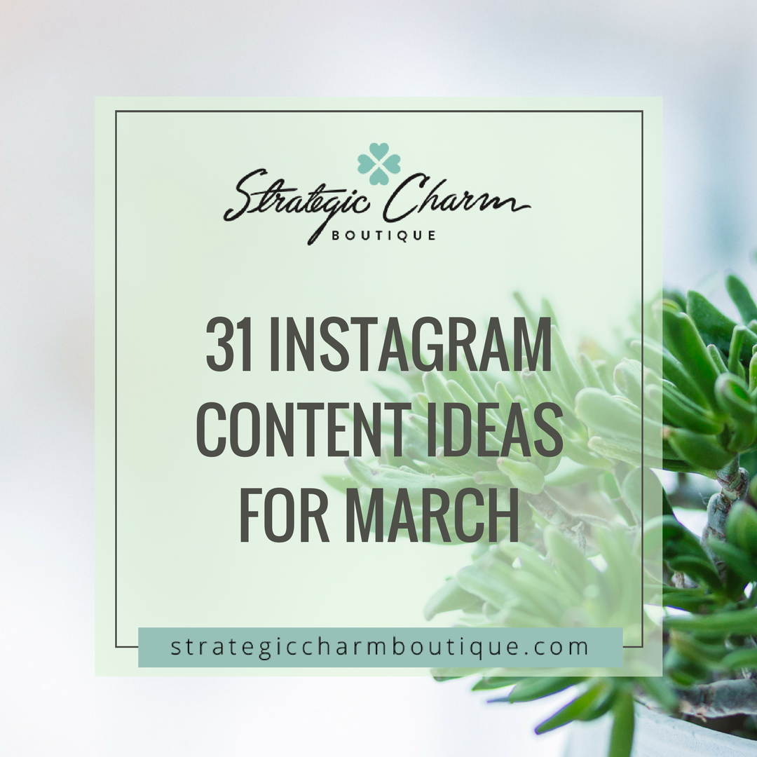 Daily content for March.