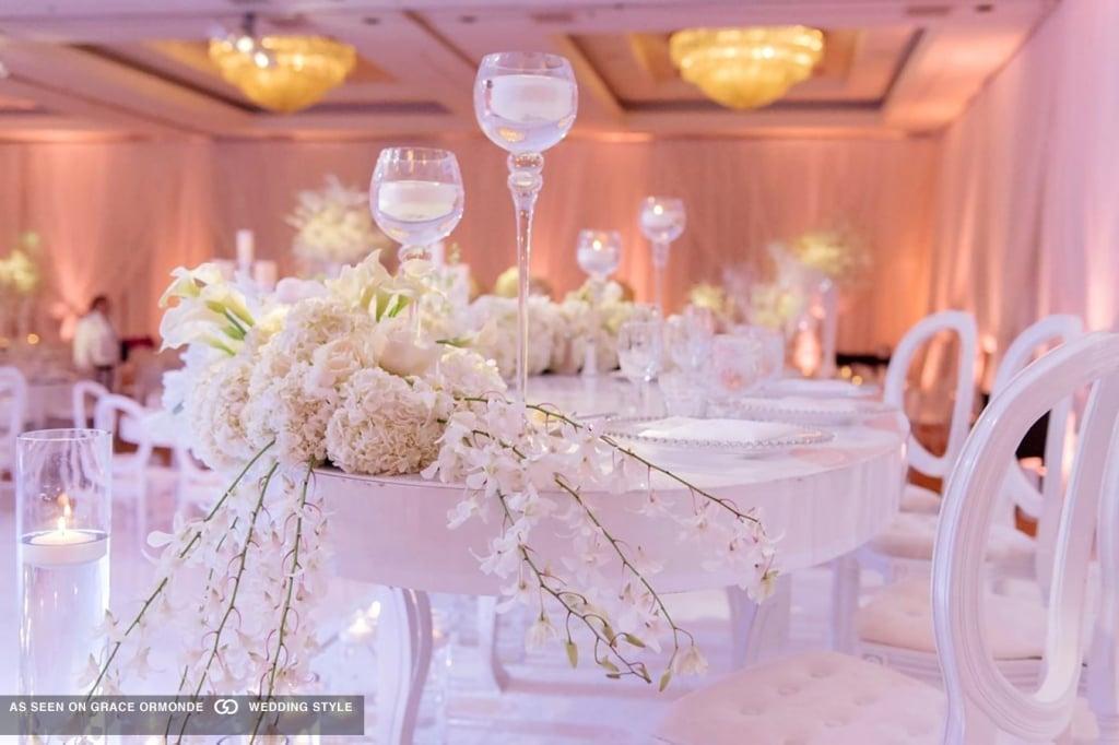 Kat Minnasi white wedding design