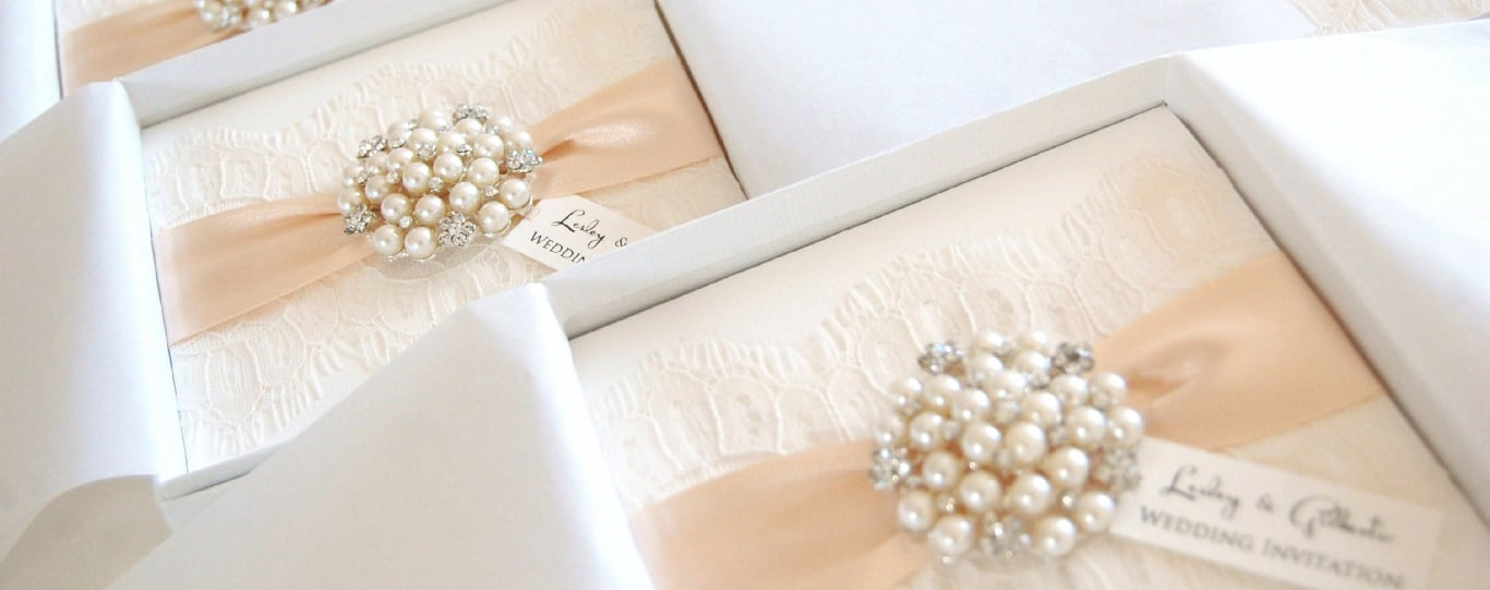 wedding stationery box