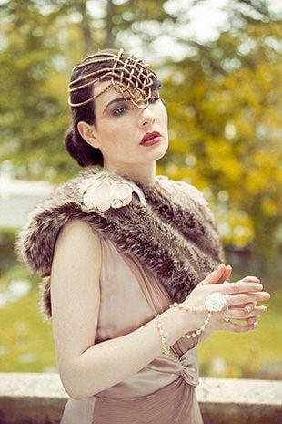 gatsby inspired bride