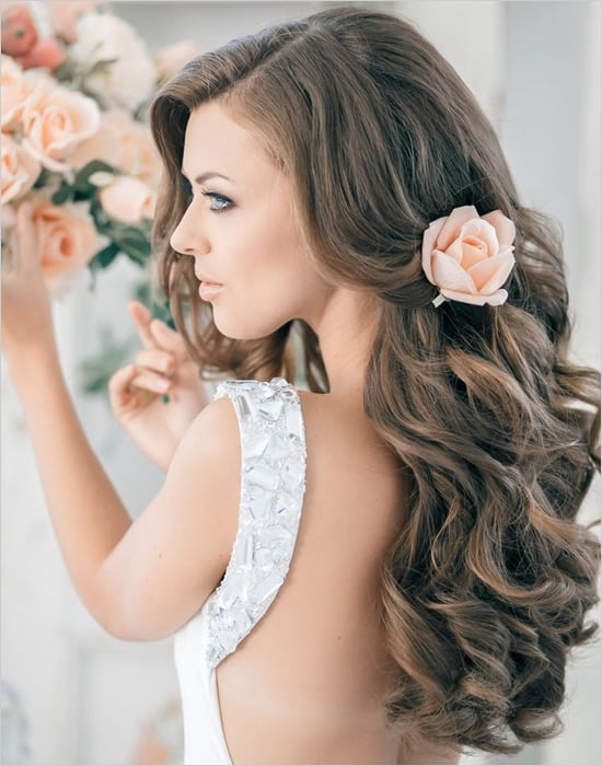 luxury bridal hair
