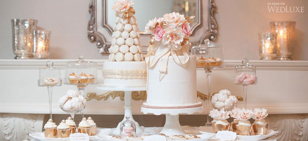 Luxury Wedding Dessert table.