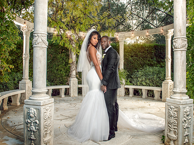 Kevin & Eniko Hart at their wedding
