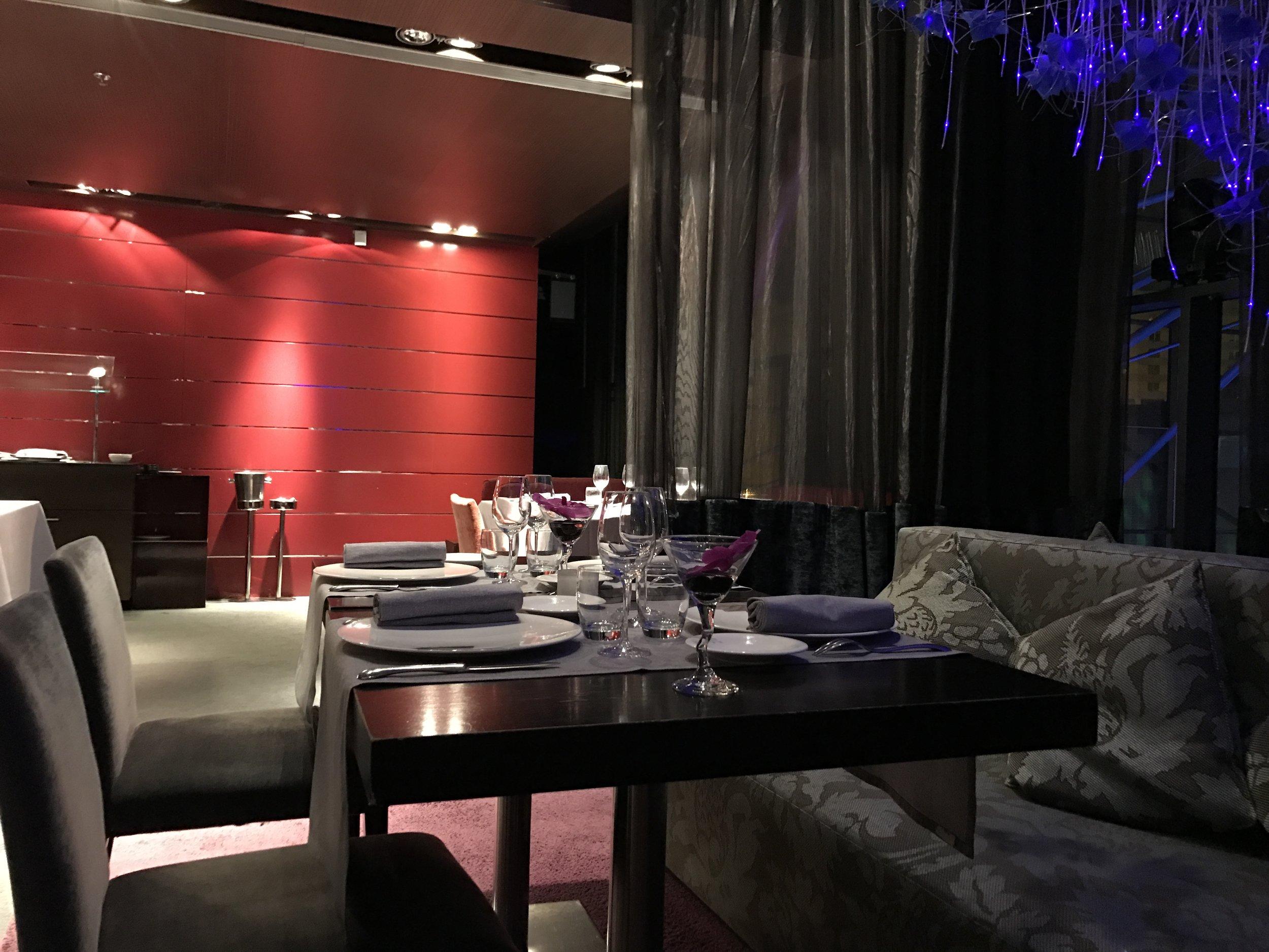 Hesperia Tower Restaurant