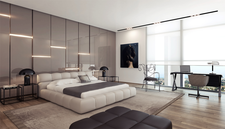 Contemporary Interior Design Scheme