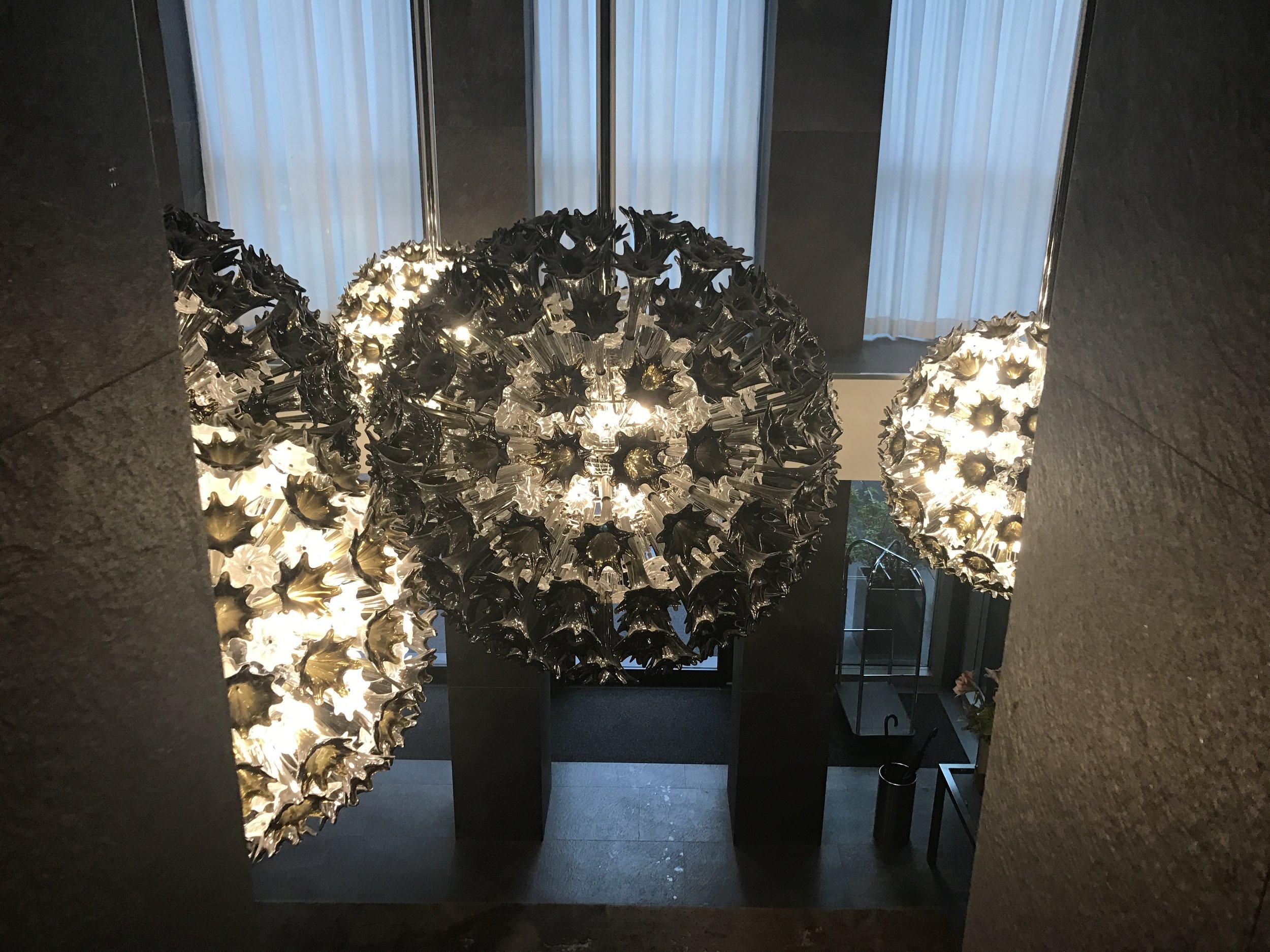 La Gare Hotel Lighting