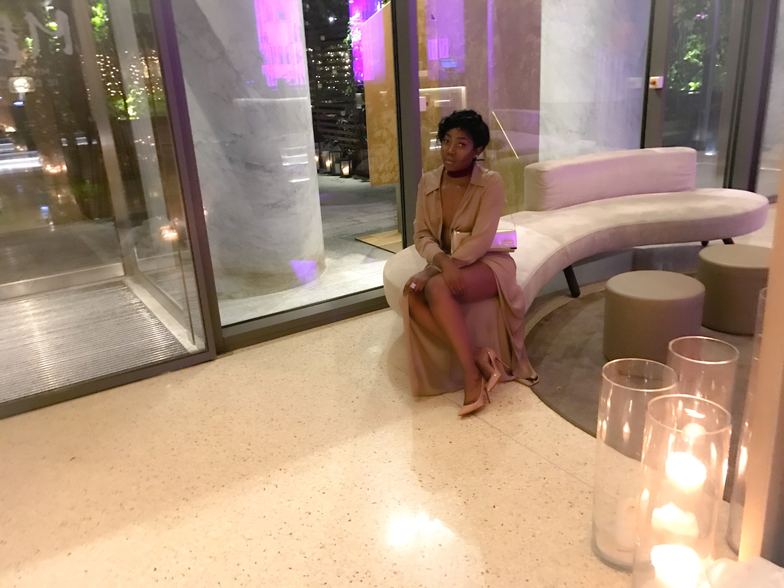 Minihaha in STK Milan lobby