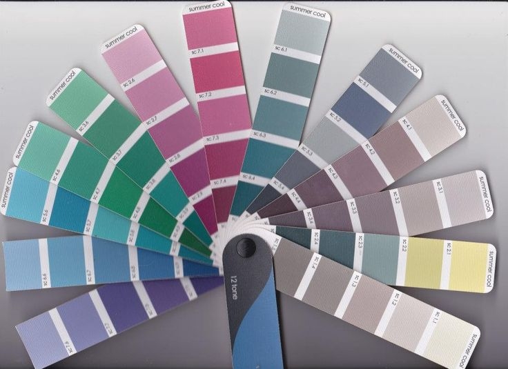 Pantone colour wheel