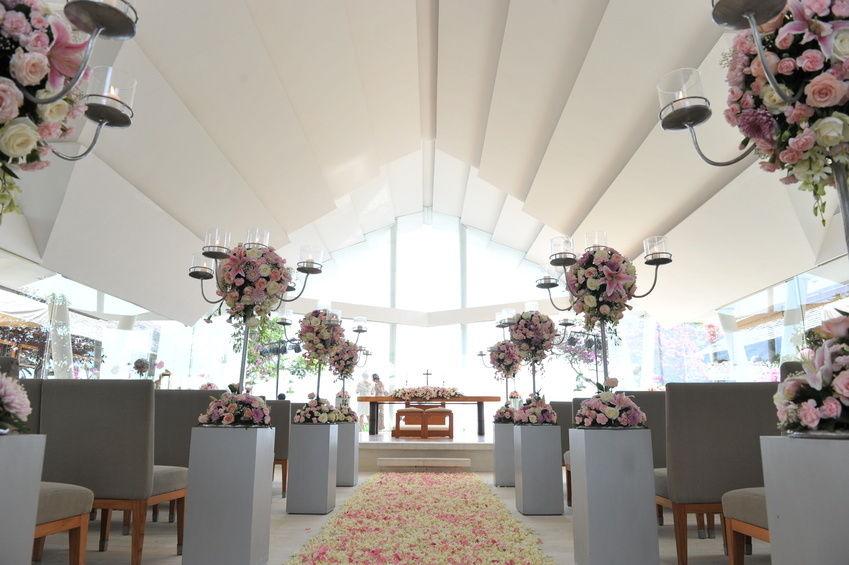 a luxury bridal ceremony