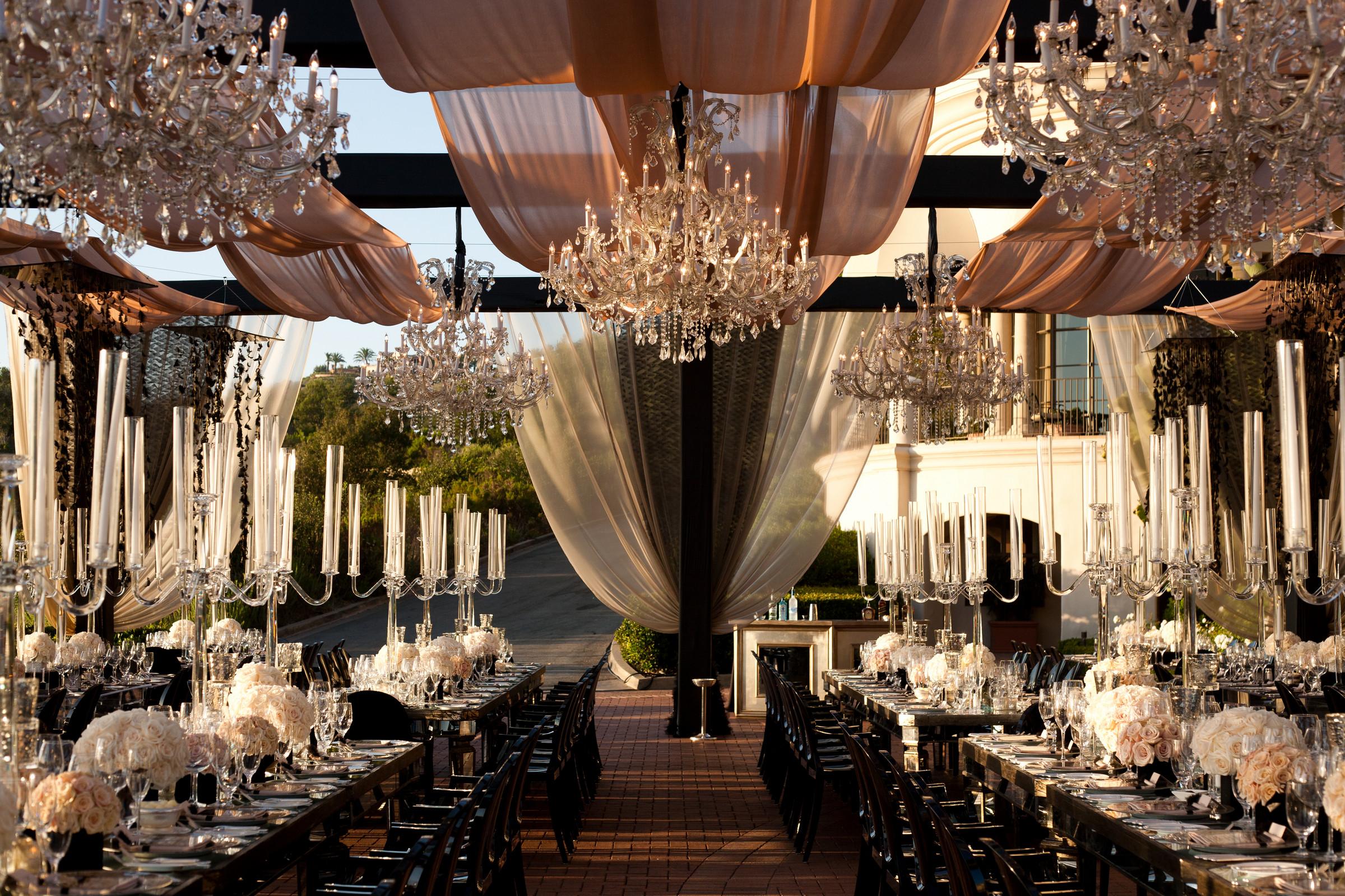a gorgeous outdoor wedding design