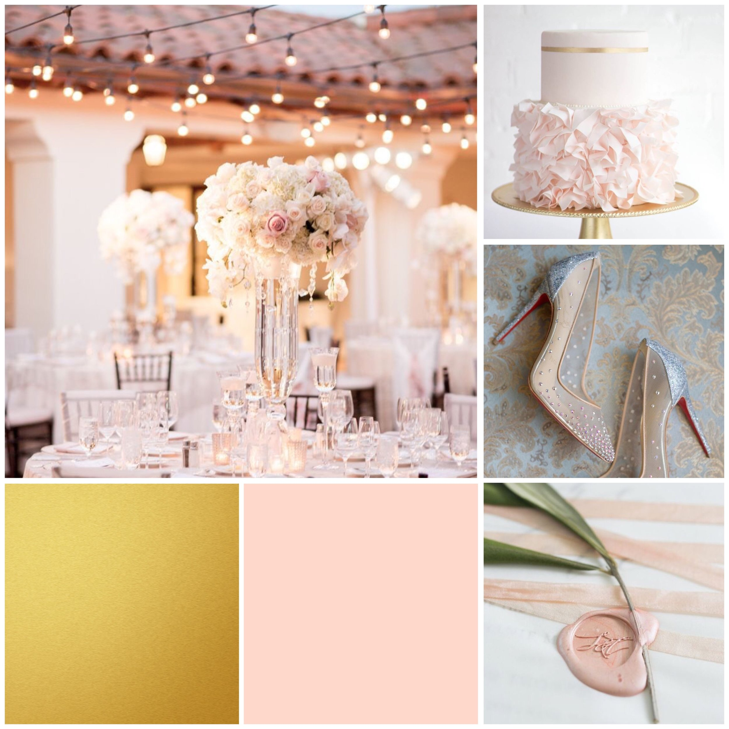 Scallop Shell wedding moodboard