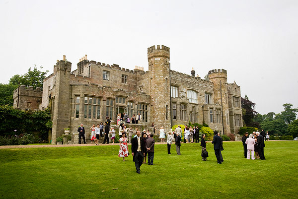 Castle Wedding in Yorkshire